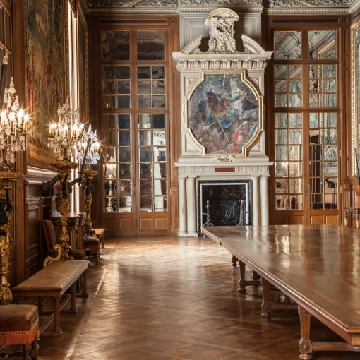 Chantilly castle parquet, chantilly parketta, chantilly táblaparketta,